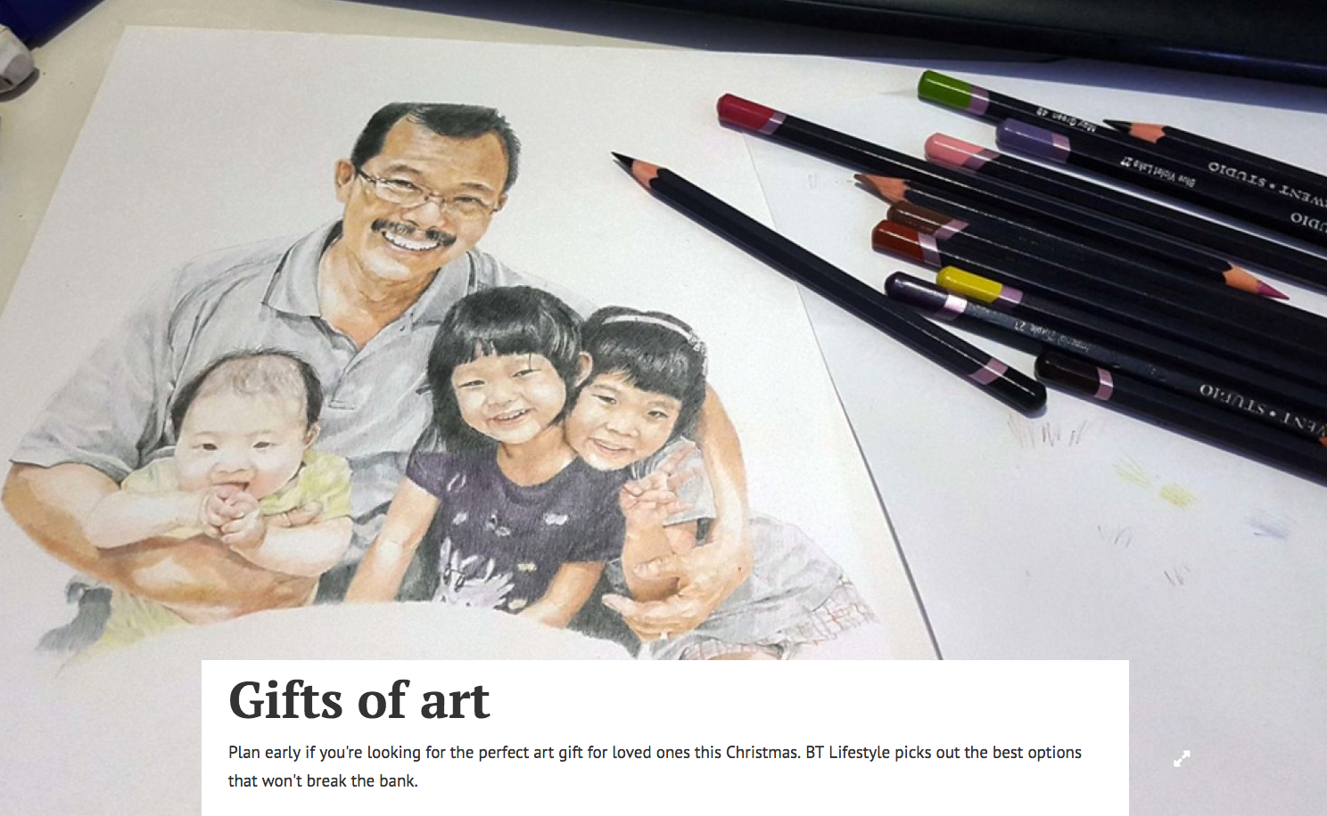 Gifts of art