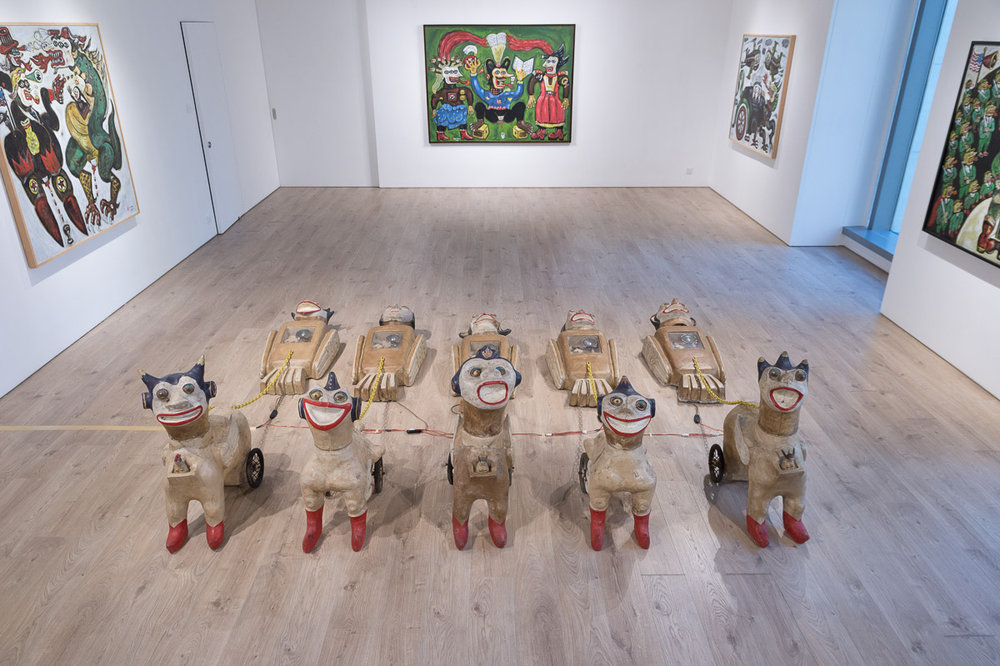 'Land of Freedom': Heri Dono's First Solo Exhibition in Hong Kong