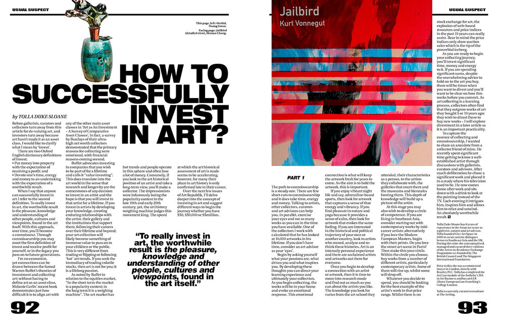 How to Successfully Invest in Art?